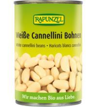 Rapunzel Weiße Canellini Bohnen, 400 gr Dose (240 gr)