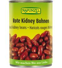 Rapunzel Rote Kidney Bohnen, 400 gr Dose (240 gr)