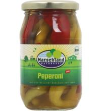 Marschland Peperoni mild in Lake, 320 gr Glas (150 gr)