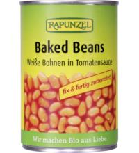 Rapunzel Baked Beans/ weiße Bohnen in Tomatensauce, 400 gr Dose