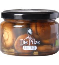Alber Shiitake Pilze, 250 gr Glas (150 gr)