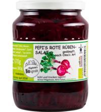 Pflügelmeier Rote Rüben-Salat, gedämpft Omas Art, 670 gr Glas (380gr)
