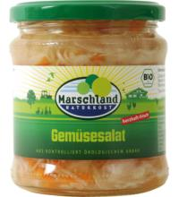 Marschland Gemüsesalat, 330 gr Glas (190 gr)