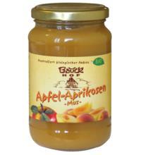 Bauck Hof Apfel-Aprikosenmus, 360 gr Glas