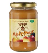 Bauck Hof Apfelmus, mit Apfeldicksaft, 360 gr Glas