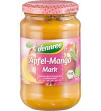 dennree Apfel-Mangomark, 360 gr Glas