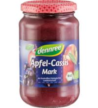 dennree Apfel-Cassismark, 360 gr Glas