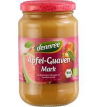 dennree Apfel-Guavenmark, 360 gr Glas