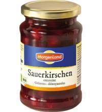Morgenland Sauerkirschen entsteint, 360 gr Glas (195 gr)