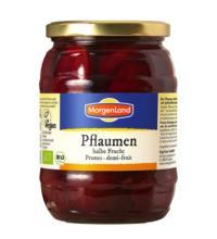 Morgenland Pflaumen, halbe Frucht, 685 gr Glas (385 gr)