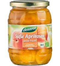 dennree Aprikosen, ganze Frucht, 700 gr Glas (340 gr)