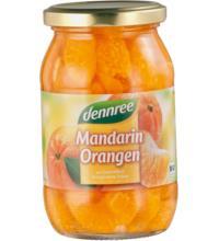dennree Mandarin-Orangen, 350 gr Glas (195 gr)