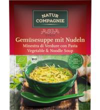 Natur Comp ASIA Gemüsesuppe mit Nudeln, 40 gr Beutel