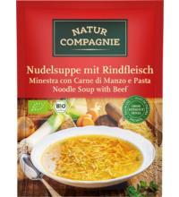 Natur Comp Nudelsuppe mit Rindfleisch, 40 gr Beutel