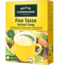Natur Comp Fixe Tasse Kartoffel-Lauch, 60 gr Packung