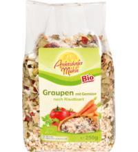 Antersdorfer Mühle Graupen Risotto mit Gemüse, 250 gr Packung
