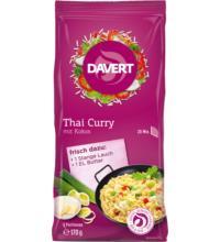 Davert Thai Curry mit Kokos, 170 gr Beutel