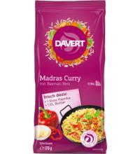 Davert Madras Curry mit Basmati Reis, 170 gr Beutel
