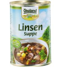 Ökoland Linsensuppe, 400 gr Dose