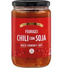 Wünsch Dir Mahl Chili con Soja, 650 gr Glas