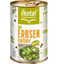 Ökotal Erbseneintopf vegetarisch, 400 gr Dose