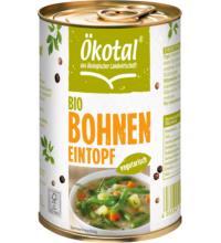 Ökotal Bohneneintopf vegetarisch, 400 gr Dose