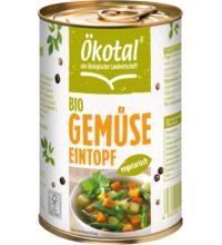 Ökotal Gemüseeintopf vegetarisch, 400 gr Dose