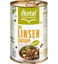 Ökotal Linseneintopf vegetarisch, 400 gr Dose