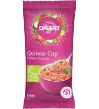 Davert Quinoa-Cup Tomate-Kräuter, 65 gr Packung