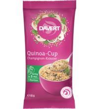 Davert Quinoa-Cup Champignon-Kräuter, 65 gr Packung