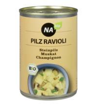NAbio Ravioli Pilz, 400 gr Dose