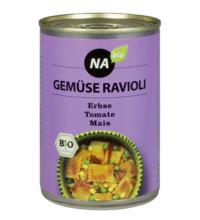 NAbio Ravioli Gemüse, 400 gr Dose