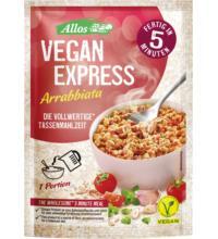 Allos Vegan Express Arrabbiata, 60 gr Beutel