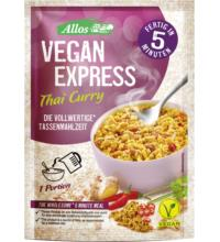 Allos Vegan Express Thai Curry, 65 gr Beutel