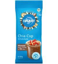 Davert Chia-Cup Schokolade, 50 gr Beutel