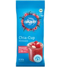 Davert Chia-Cup Himbeere, 42 gr Beutel