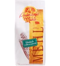 Antersdorfer Mühle Dinkelvollkornmehl, 1 kg Packung