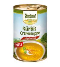 Ökoland Kürbis-Cremesuppe vegetarisch, 400 gr Dose