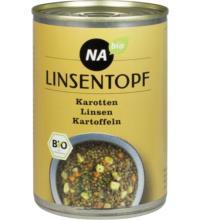 NAbio Linsentopf, 400 gr Dose