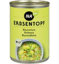 NAbio Erbsentopf, 400 gr Dose