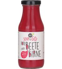 NAbio Soup to Go Rote Beete, 240 ml Flasche