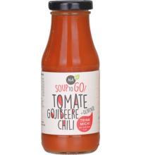 NAbio Soup to Go Tomate Goji, 240 ml Flasche