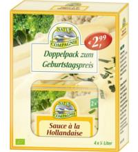 Natur Comp Doppelpack Sauce Hollandaise, 92 gr Packung