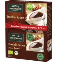 Natur Comp 2erPack Dunkle Sauce, 84gr Packung