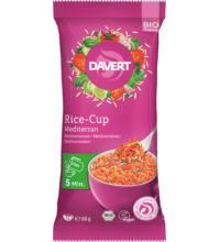Davert Rice-Cup Mediterran, 69 gr Packung