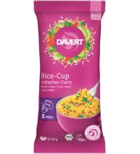 Davert Rice-Cup Indisches Curry, 67 gr Packung
