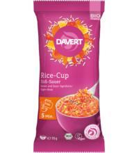 Davert Rice-Cup Süß-Sauer, 70 gr Packung
