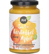 NAbio Cremesuppe Süßkartoffel Apfel, 375 ml Glas