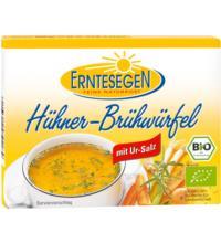 Erntesegen Hühner Brühwürfel, à 11 gr für 0,5 ltr, 6 Stück Pack