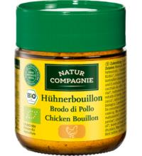 Natur Comp Klare Hühnerbouillon feinkörnig, 100 gr Glas
